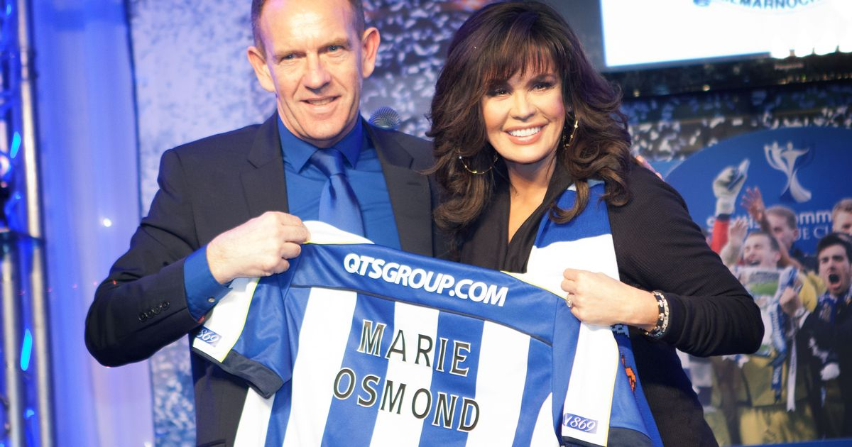 Kilmarnock facts Marie Osmond